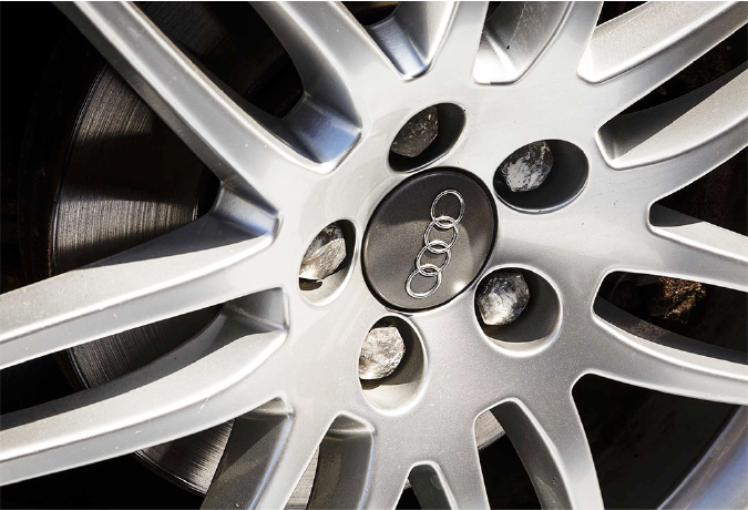 Audi wheel alloy