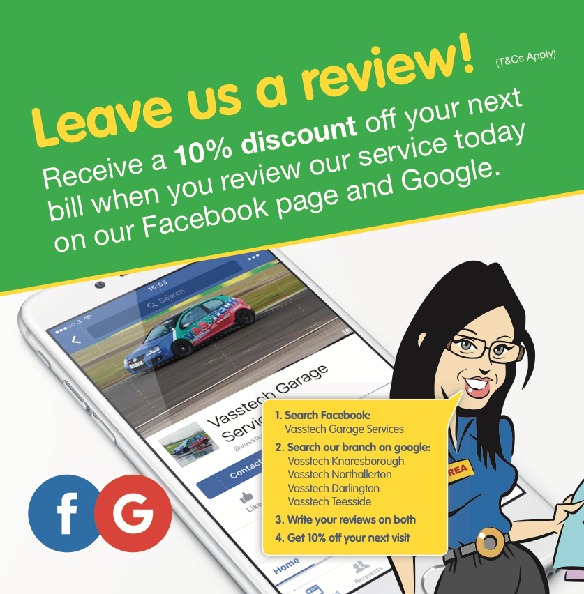Leave A Review For A Discount