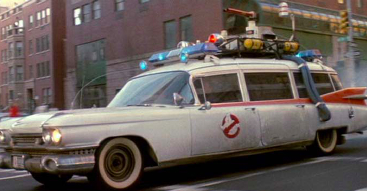 Ghostbusters Cadillac