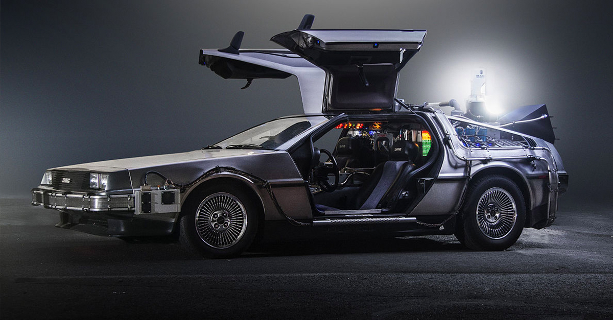Back to the Future's DeLorean