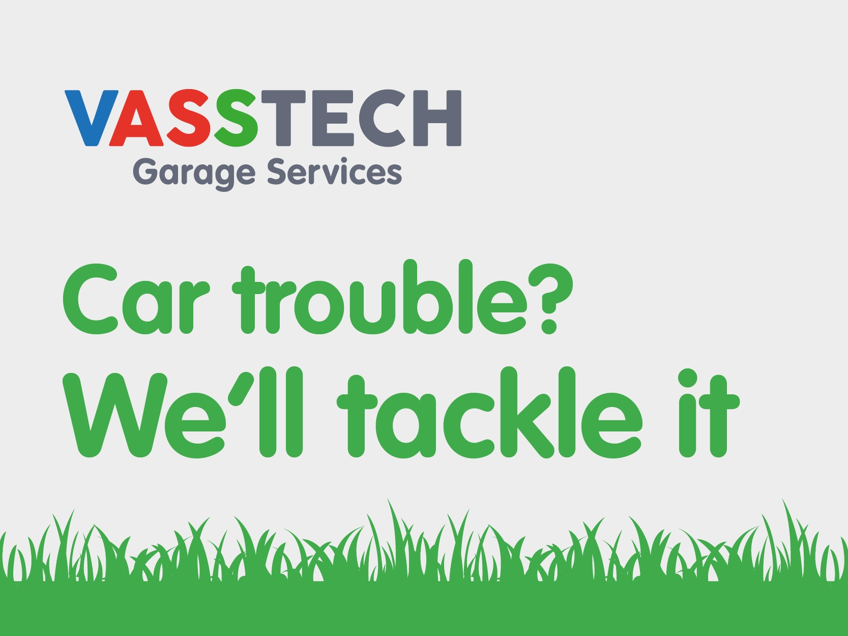 Car Trouble? We'll tackle it